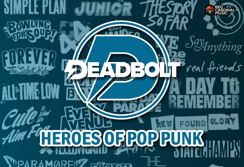 Heroes Of Pop Punk Playlist - Red Cardinal Music