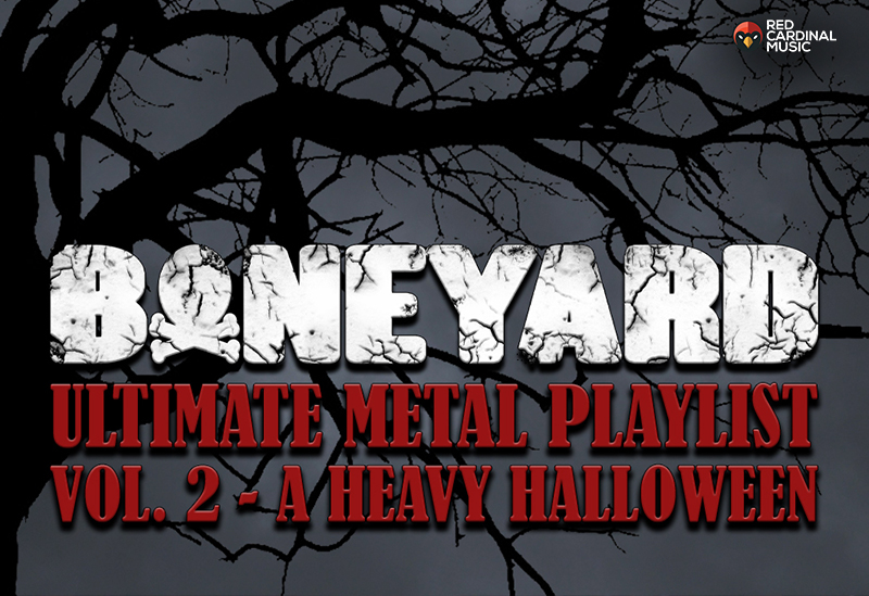 Boneyard Heavy Halloween Metal Playlist - Red Cardinal Music