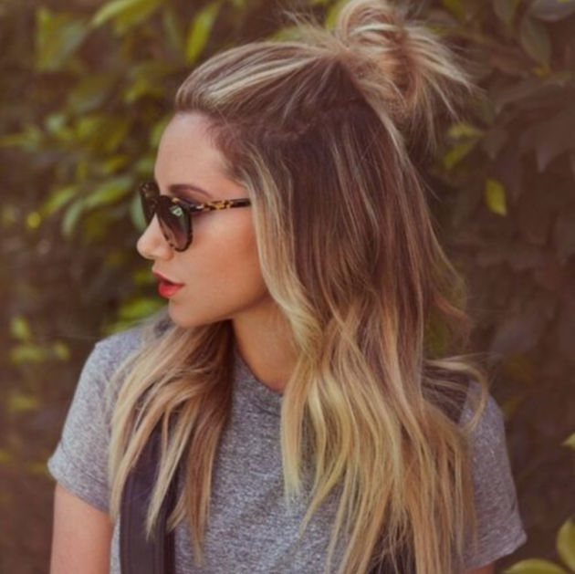 top knot hairs