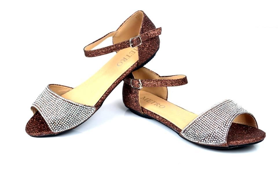 elegant shoes on eid
