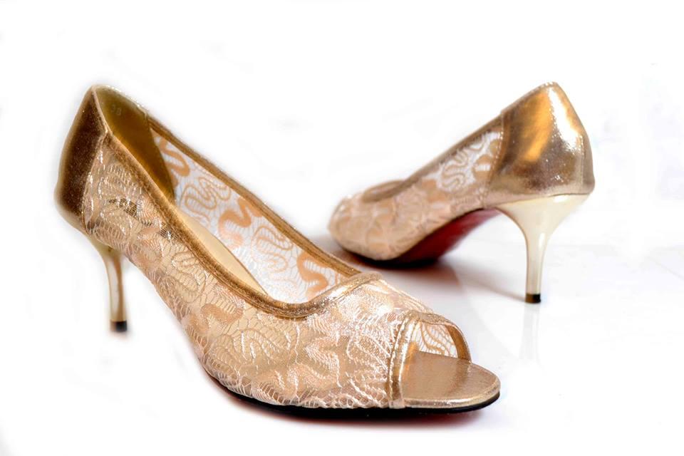 high heel shoes on eid