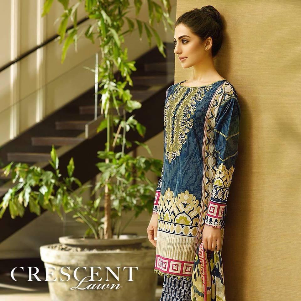 Crescent Lawn Faraz Manan Summer Dresses
