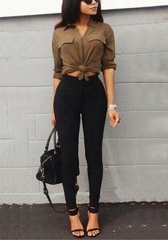 Black Leggings Trend In Summer Clothing For Women