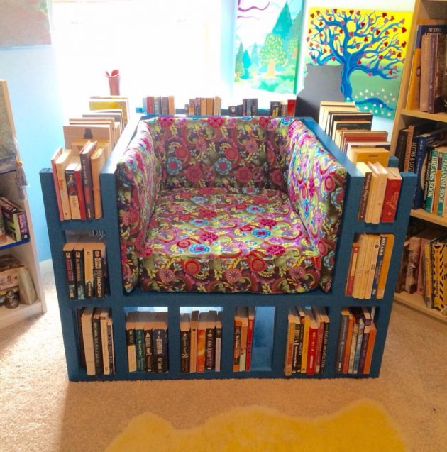 DIY book shelf ideas