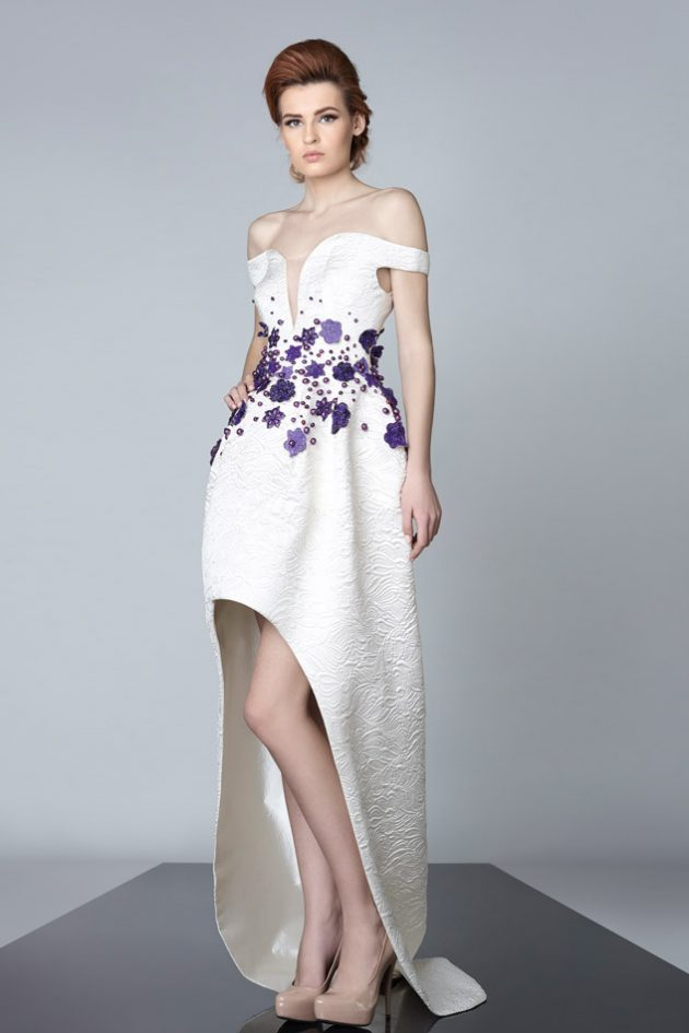 Edward Arsouni Summer evening wear