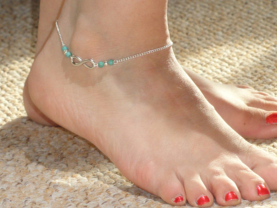 Infinity Anklets Footwear Jewelry Ideas