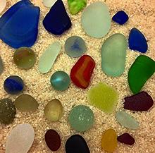 Salka finds on beach