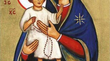 Our Lady of the Rosary Icon