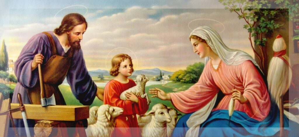 Parish Devotion for Monday 17th February 2020 – Month of the Holy Family –  Mondays