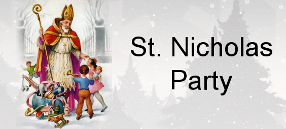 CHILDREN'S CHRISTMAS PARTY 14th DECEMBER 2019 from 4pm