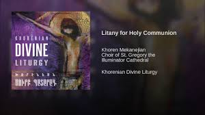 Litany of Holy Communion