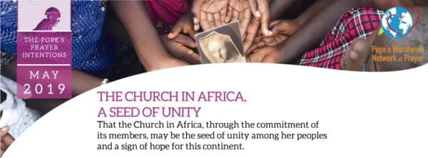 Pope Prayer May 2019