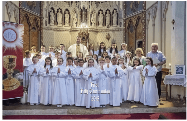 Invitation to all Children who made their First Holy Communion in 2018