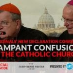 Cardinal Burke, Bishop Schneider issue 'declaration of truths' to correct rampant 'doctrinal confusion' in Church