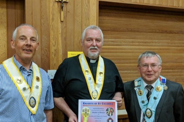 The Knights of St. Columba - St John's Cathedral Meeting 16-10-2019