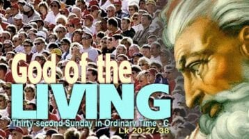 Newsletter: 10th November 2019 - 32nd Sunday in Ordinary Time Year C
