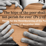 Newsletter: 17th November 2019 - 33rd Sunday in Ordinary Time Year C