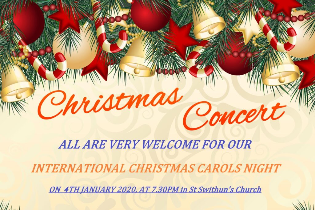 Our International Carol Service