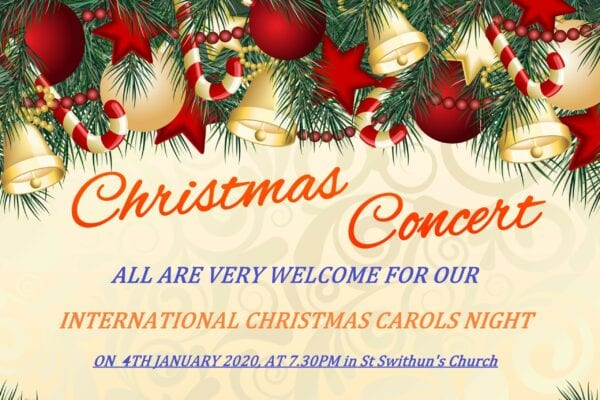 Our International Carol Service - 4th January 2020