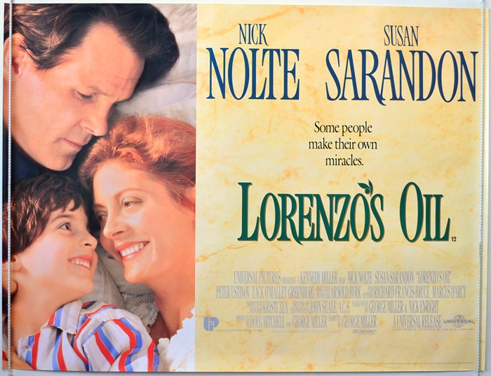 Film Night: 'LORENZO'S OIL'