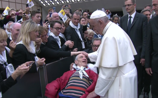 Pope's Message to the Sick - 11thFebruary 2020