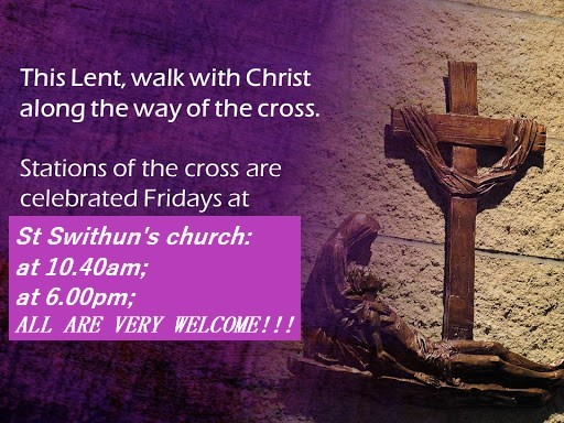 STATIONS OF THE CROSS and ADORATION - Lenten Services