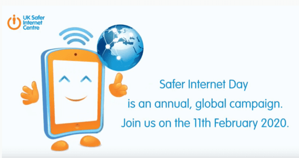 Safer Internet Day is on Tuesday 11th February 2020