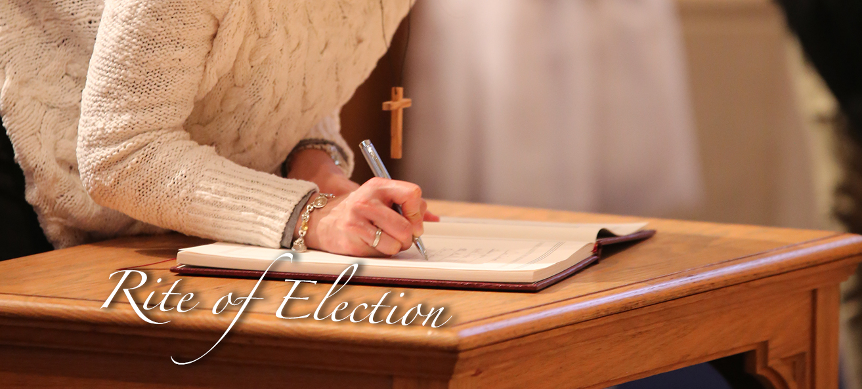 Rite of Election – St John's Cathedral