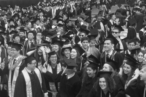Black White College Education - Vinita Gupta Blog