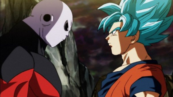 Goku and Jiren in dragon ball super 109 110