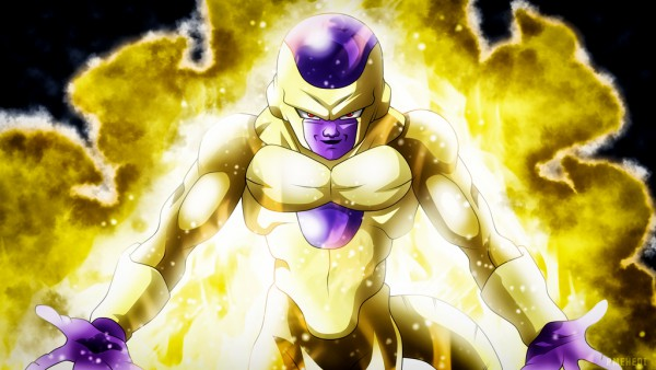Frieza in his Golden transformation