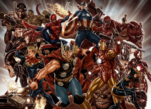 Marvel Legacy all superheroes