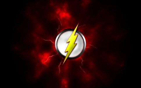 Cw's The Flash lightning bolt logo