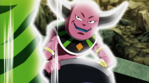 Universe 3 God of Destruction Mule in the Dragon Ball Super