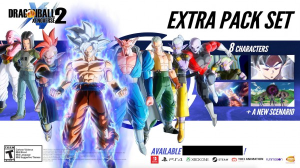 Dragon Ball Xenoverse game Mastered Ultra Instinct Goku