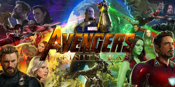 All the characters from Avengers: Infinity War poster