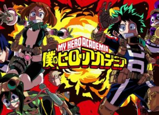 My Hero Academia anime series
