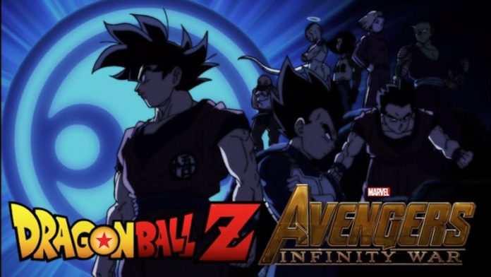 Affiche From Dragon Ball Super Fits Avengers: Infinity War