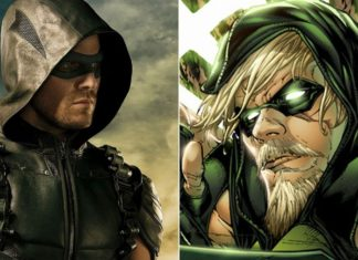 Oliver Queen as Comic Based Goatee in Arrow Season 7