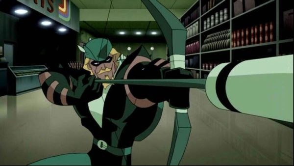 Green Arrow in Justice League Unlimited series