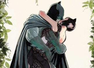 DC comic book Batman 50# Catwoman Wedding