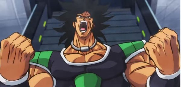 Broly roars in DBS movie trailer