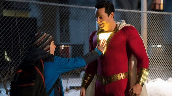 Shazam DC movie comic con trailer