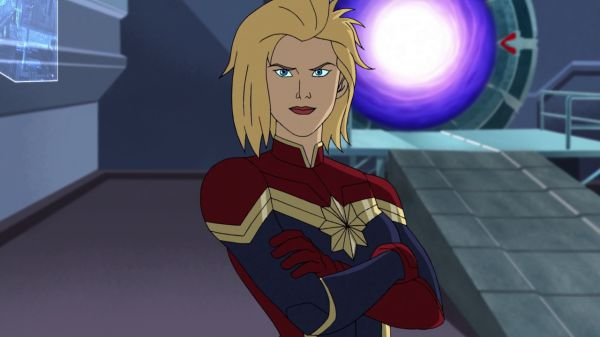 Captain Marvel in Avengers Assemble