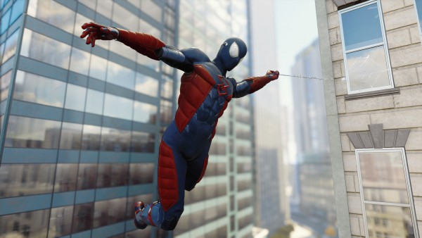 Electrically Insulated Spider-Man Suit ps4