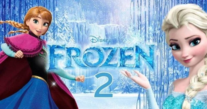 Frozen 2 first teaser