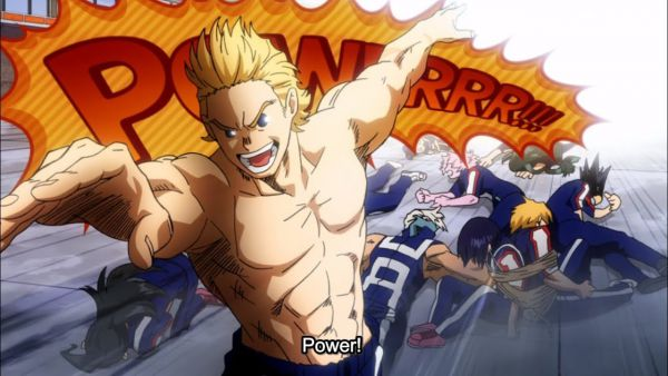 mirio togata defeats Class 1 A students