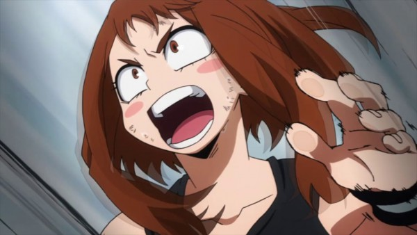 ochako uraraka as Gravity