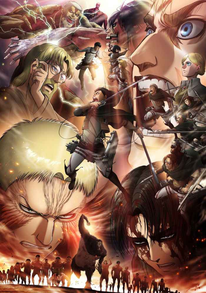 Attack On Titan Season 3 part B poster