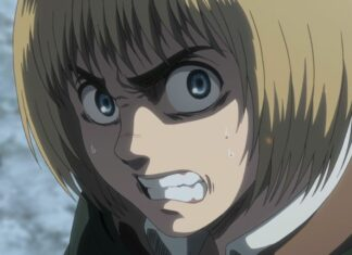 Armin from attack on titan season 3
